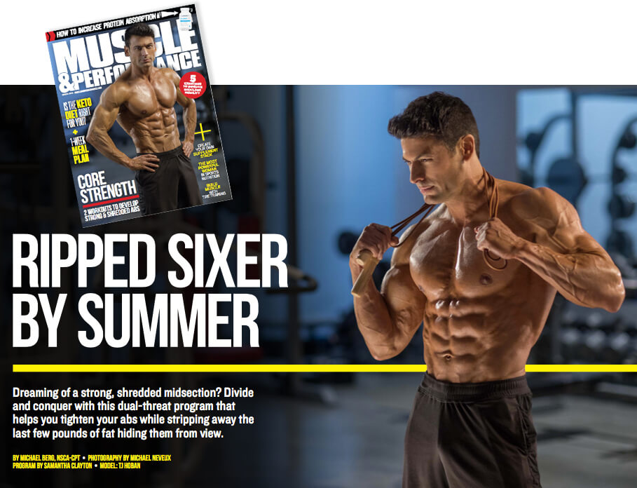 Muscle and Performance TJ Hoban
